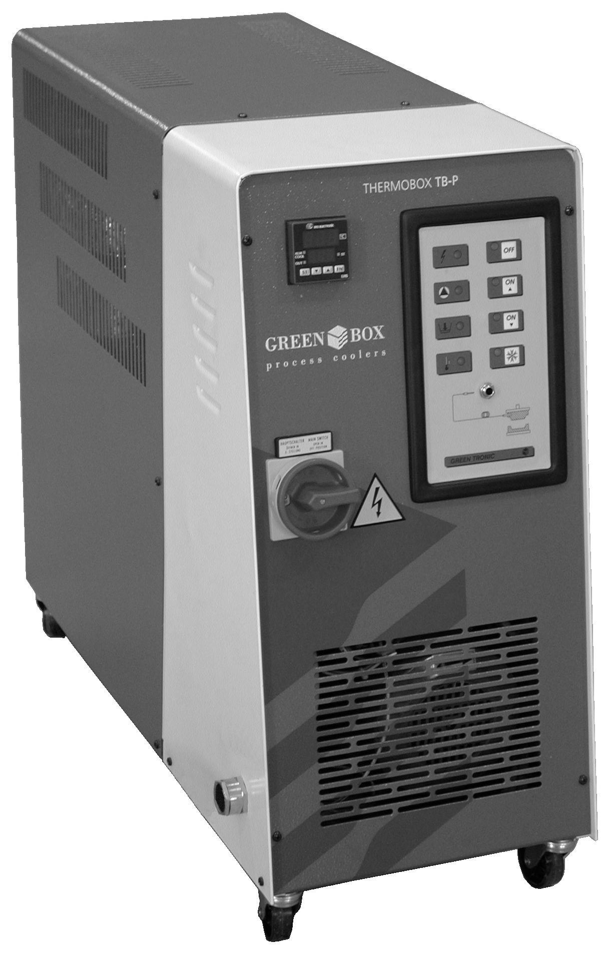 Temperature control units TB-P for water or pressurised